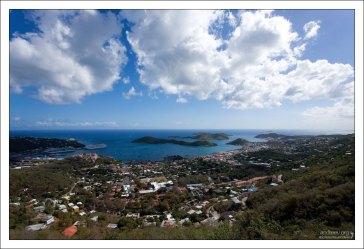 Шарлотта-Амалия - столица острова.
