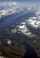 Снежные вершины Аляски.