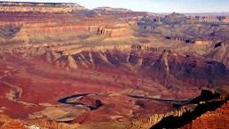 Colorado River на дне каньона.