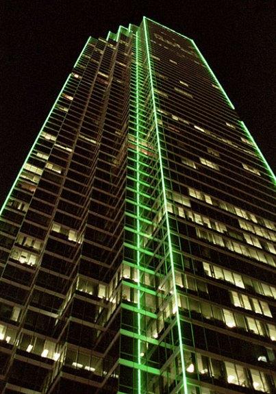 Bank of America Tower - один из красивейших небоскребов Далласа.