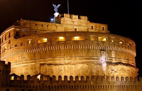 Крепость Castel Sant' Angelo.