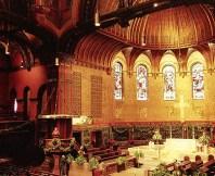 Trinity Church. Подготовка к Рождественской службе. Бостон. Декабрь, 2001 год.