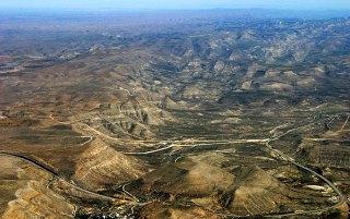 Паутина дорог. Вид с вершины Техаса.