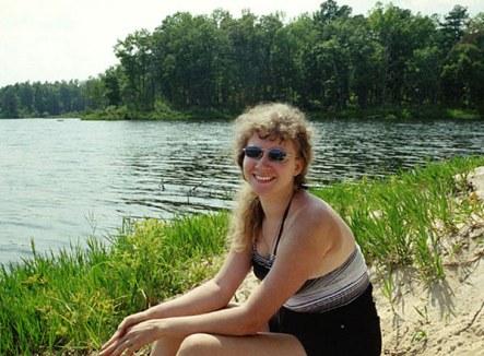 Пикник на Chewalla Lake, Миссисипи. Сентябрь, 2000 год.