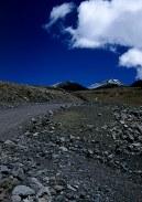 По пути на вершину горы Mauna Kea.