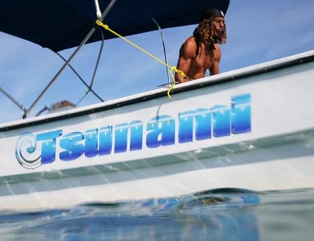 Сиеста на лодке.