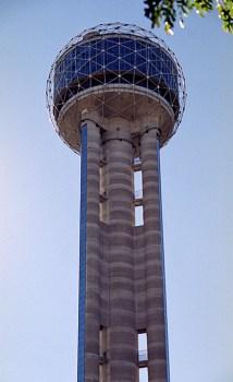 50-этажная Reunion Tower.
