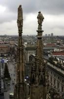 Шпили Duomo. Милан.