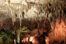 """Сталактиты по прозвищу """"Soda straws"""" - """"Трубочки для содовой"""". Carlsbad Caverns National Park."""