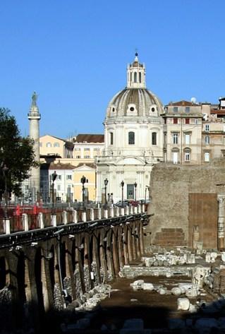 Траянский форум и рынки.