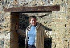 Дверной проем в одном из домов Геркуланума.