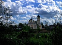 Церковь около деревни Акуловка.