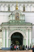 Святые ворота – главный вход в монастырь. Троице-Сергиева Лавра, Сергиев Посад.