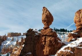 """Каменная ваза. Верхняя часть тропы """"Навахо""""."""