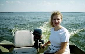 Озеро Reelfoot Lake, в двух часах на север от Мемфиса. Октябрь, 2001 год.