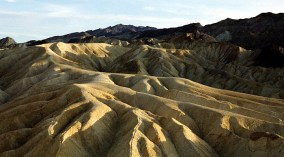 Zabriskie point на закате.