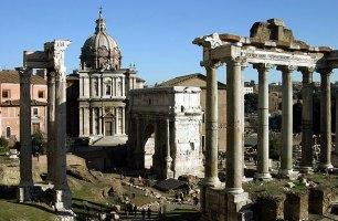Римский Форум. Западная часть.