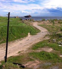 Чумной форт у берегов о. Котлин, где разрабатывались вакцины и сыворотки против чумы, холеры, столбняка.