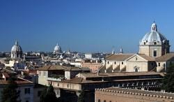 Римские крыши.