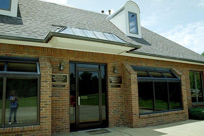 Первая Катина работа в США. Memphis esthetic and restorative dentistry. Июнь, 2002 год.