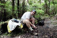 Один из тяжелейших походов к вулкану и лавовому полю через джунгли. Pu'u 'O'o Hike.