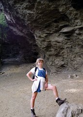 Алюминевый утес. Тропа Alum Cave Bluffs Trail.