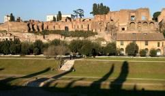 Палатинский холм. Дворец императора Септимиуса Северуса.