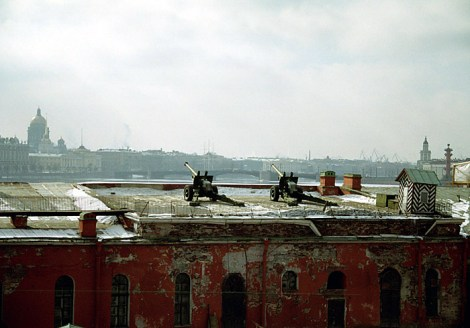 Бастион Петропавловской крепости.