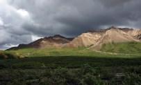 Погода меняется. Горная система Alaska range.
