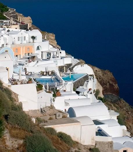 Белоснежные домики и мини-басейны с видом.