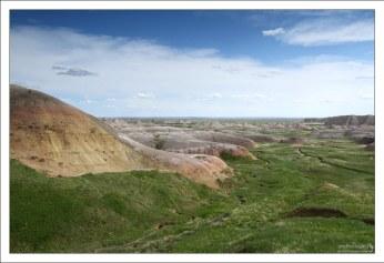 Yellow Mounds сформировались в предыдущие эпохи, в условиях, резко отличающихся от современных.