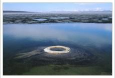 """""""Рыболовный конус"""" - это подводный гейзер на озере Йеллоустоун."""