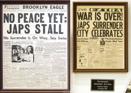 Вырезки из газет военного времени.