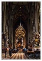 Внутри собора Св. Стефана.