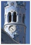 Шпиль-колокольня Голубой церкви.
