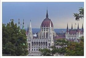 Здание венгерского парламента (венг. Országház).