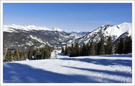 На курорте Copper Mountain 23 подъемника.