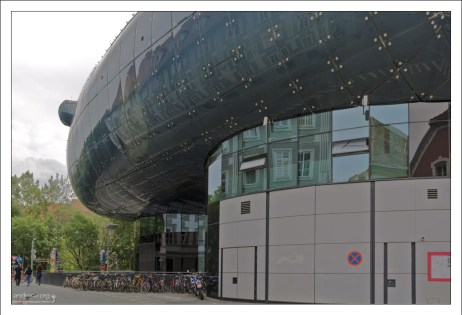 Здание Кунстхауса - галереи современного искусства.
