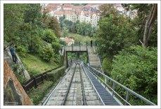 Фуникулер Schloßbergbahn.