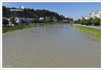 Зальцах - основная река австрийской земли Зальцбург.