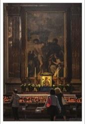 Алтарь Святой Девы Марии в Зальцбургском соборе.