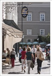 "Кафе-кондитерская ""Fürst"" на улице Brodgasse."