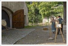 Традиционная стрельба из лука.