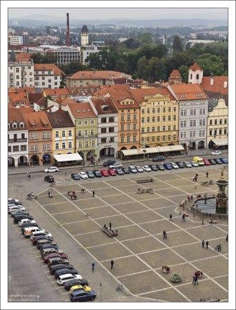 Площадь Оттокара представляет собой квадрат размером в 133 кв. м – это самая большая городская площадь в Центральной Европе.