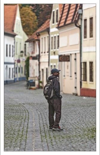 Туристы на улицах Чески-Будеёвице.