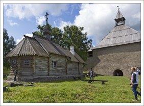 Церковь Димитрия Солунского — деревянная церковь на территории Староладожской крепости, использовалась как тёплая церковь для богослужения в зимний период.