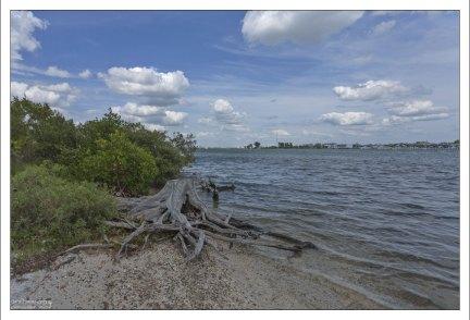 Quick Point Nature Preserve на другой стороне острова.