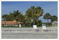 Гостиничный пляж.