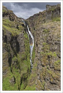 В течение долгого времени Глимур считался самым высоким водопадом Исландии (198 метров).