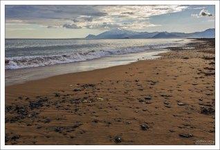 Пляж возле кемпинга Langaholt.
